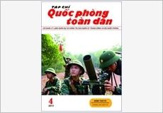 TẠP CHÍ QUỐC PHÒNG TOÀN DÂN số 4-2017