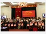 Bộ Quốc phòng gặp mặt Đoàn đại biểu Người có công với cách mạng tỉnh Hậu Giang
