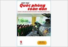 TẠP CHÍ QUỐC PHÒNG TOÀN DÂN số 9-2017