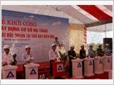 Khởi công Dự án xây dựng cơ sở hạ tầng và tiền xử lý chất độc đi-ô-xin tại Sân bay Biên Hòa