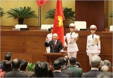 Đồng chí Nguyễn Phú Trọng tuyên thệ nhậm chức Chủ tịch nước nhiệm kỳ 2016-2021