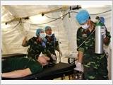 Triển khai Bệnh viện dã chiến cấp 2 tại Nam Xu-Đăng – bước tiến lớn của Việt Nam tham gia hoạt động gìn giữ hòa bình Liên hợp quốc