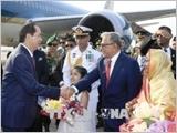 Chủ tịch nước Trần Đại Quang bắt đầu chuyến thăm cấp Nhà nước Cộng hòa Nhân dân Bangladesh