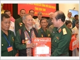 Bộ Quốc phòng gặp mặt Đoàn đại biểu Người có công với cách mạngtỉnh Kon Tum