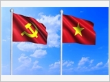 Forever be the theoretical flag in Homeland protection of the Party in the Army