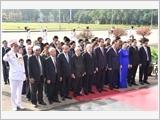 Kỷ niệm 128 năm Ngày sinh Chủ tịch Hồ Chí Minh