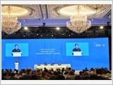"""""""Độc lập, tự chủ, tăng cường hợp tác, tuân thủ luật pháp quốc tế là nền tảng của an ninh, hòa bình và phát triển"""""""