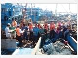"""""""Cảnh sát biển đồng hành cùng ngư dân"""" - mô hình dân vận hiệu quả, thiết thực"""