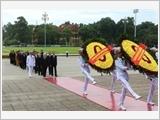Lãnh đạo Đảng, Nhà nước vào Lăng viếng Chủ tịch Hồ Chí Minh nhân kỷ niệm 73 năm Quốc khánh 02-9