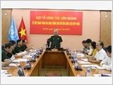 Họp Tổ công tác Liên ngành về Việt Nam tham gia hoạt động gìn giữ hòa bình Liên hợp quốc
