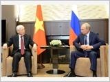 Tổng Bí thư Nguyễn Phú Trọng hội đàm với Tổng thống LB Nga V.Putin