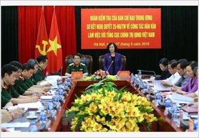 Tác phẩm Dân vận của Chủ tịch Hồ Chí Minh - giá trị lý luận và thực tiễn