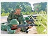 Huyện Phú Xuyên nâng cao chất lượng xây dựng lực lượng dự bị động viên