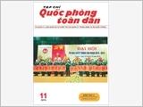 TẠP CHÍ QUỐC PHÒNG TOÀN DÂN số 11-2019