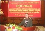 Thường vụ Quân ủy Trung ương quán triệt, triển khai thực hiện Chỉ thị về đại hội Đảng các cấp