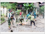 Lực lượng vũ trang huyện Mường Tè thực hiện tốt công tác dân vận