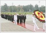 Kỷ niệm 89 năm Ngày thành lập Đảng: Lãnh đạo Đảng, Nhà nước vào Lăng viếng Chủ tịch Hồ Chí Minh