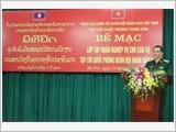 Bế mạc Lớp tập huấn nghiệp vụ cho Đoàn cán bộ Tạp chí Quốc phòng Quân đội nhân dân Lào