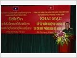 Khai mạc Lớp Tập huấn nghiệp vụ cho Đoàn cán bộ Tạp chí Quốc phòng Quân đội nhân dân Lào
