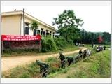 Lữ đoàn Thông tin 139 thực hiện tốt công tác dân vận