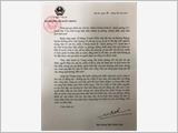 Thư của Đại tướng Ngô Xuân Lịch gửi gia đình các cán bộ, chiến sĩ Đoàn Kinh tế - Quốc phòng 337 hy sinh trong thực hiện nhiệm vụ