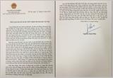 Thư của Thủ tướng Nguyễn Xuân Phúc gửi Quân đội nhân dân Việt Nam