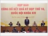 Họp báo thông tin kết quả kỳ họp thứ 10, Quốc hội khóa XIV