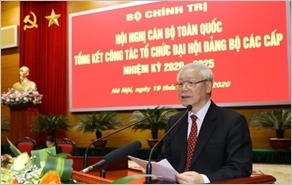 Tổ chức thành công Đại hội XIII của Đảng, đưa đất nước bước vào giai đoạn phát triển mới, mở ra triển vọng tươi sáng của dân tộc