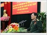 Gặp mặt Đoàn đại biểu Quân đội dự Đại hội đại biểu toàn quốc các dân tộc thiểu số Việt Nam lần thứ II năm 2020