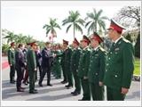 Sư đoàn 308 thực hiện tốt công tác đối ngoại quốc phòng