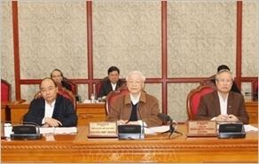 Bộ Chính trị họp về công tác phòng, chống dịch Covid-19