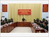 Đoàn công tác Bộ Quốc phòng thăm và kiểm tra các đơn vị phía Nam