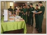 Trưng bày sách, báo, tạp chí chào mừng Đại hội đại biểu Đảng bộ Quân đội lần thứ XI