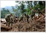 Lực lượng vũ trang Quân khu 5 trên tuyến đầu phòng, chống thiên tai, tìm kiếm cứu nạn
