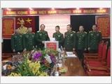 Đoàn công tác Tổng cục Chính trị thăm và kiểm tra Tạp chí Quốc phòng toàn dân
