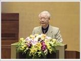 Tổng Bí thư, Chủ tịch nước Nguyễn Phú Trọng phát biểu tại Hội nghị toàn quốc triển khai công tác bầu cử đại biểu Quốc hội khóa XV và đại biểu Hội đồng nhân dân các cấp nhiệm kỳ 2021-2026.