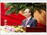 Thủ tướng Nguyễn Xuân Phúc đọc diễn văn khai mạc Đại hội XIII của Đảng