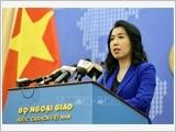 Yêu cầu tôn trọng chủ quyền Việt Nam, tuân thủ luật pháp quốc tế