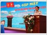 Quân chủng Hải quân gặp mặt báo chí đầu Xuân Tân Sửu 2021