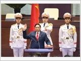 Đồng chí Phạm Minh Chính được bầu giữ chức vụ Thủ tướng Chính phủ