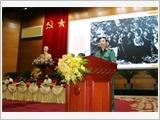 """""""Đại tướng, Tổng Tư lệnh Võ Nguyên Giáp - Một tài năng quân sự xuất chúng, nhà lãnh đạo có uy tín lớn của cách mạng Việt Nam"""""""