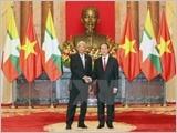 Toàn văn tuyên bố chung Việt Nam-Cộng hòa Liên bang Myanmar