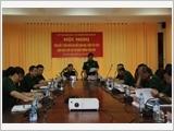 Tọa đàm trao đổi ý kiến giữa Tạp chí với bạn đọc, cộng tác viên tại Bộ Tư lệnh Quân khu 9