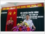 Vùng Cảnh sát biển 1 gắn học tập và làm theo Bác với công tác xây dựng Đảng bộ