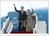Chủ tịch nước và Phu nhân đi thăm chính thức Cộng hòa Cuba