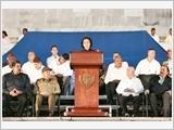 Chủ tịch Quốc hội Nguyễn Thị Kim Ngân dự Lễ tưởng niệm Lãnh tụ Cu-ba Phi-đen Ca-xtơ-rô