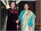 Chủ tịch Quốc hội Nguyễn Thị Kim Ngân hội đàm với Chủ tịch Hạ viện Ấn Độ; hội kiến Phó Tổng thống kiêm Chủ tịch Thượng viện và Tổng Bí thư Đảng Cộng sản Ấn Độ Mác-xít