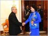 Chủ tịch Quốc hội Nguyễn Thị Kim Ngân hội kiến Tổng thống và Thủ tướng Ấn Độ; tiếp Chủ tịch Đảng Quốc đại và Tổng Bí thư Đảng Cộng sản Ấn Độ