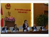 Khai mạc phiên họp thứ năm của Ủy ban Thường vụ Quốc hội khóa XIV