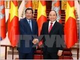 Thủ tướng Campuchia kết thúc tốt đẹp chuyến thăm chính thức Việt Nam
